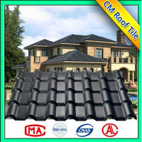 Environment Friendly Cheap Synthetic Resin Japanese Style Roof Tile