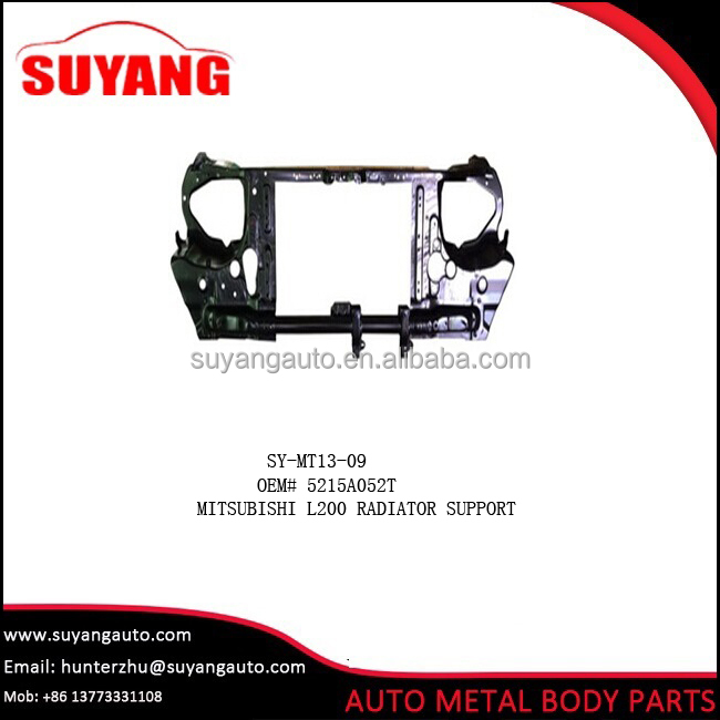 Replacement Steel Radiator Support For Mitsubishi L200 Triton/Sportero Car Body Parts