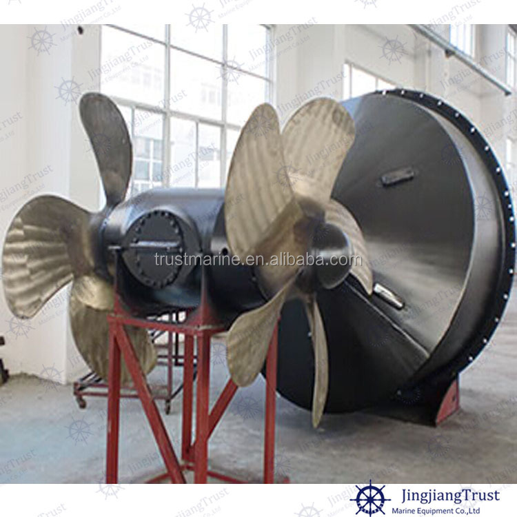 Marine Contra-rotating bow azimuth thruster