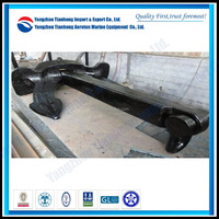 boat anchor design Japan Stockless Marine Anchor