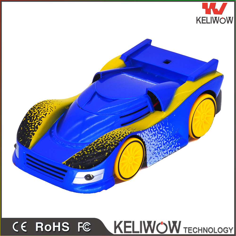 2.4GHZ Hot selling Mini Wall Climbing Remote Control Car RC car toys with high quality
