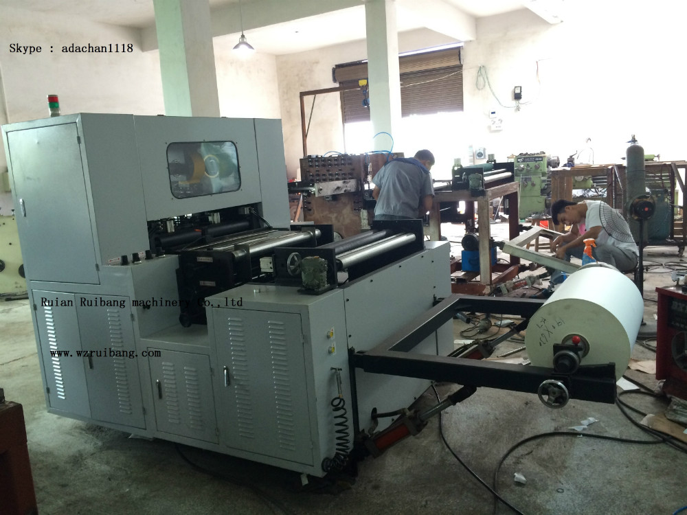 MR-850 China Best Automatic Stable Paper Cup/Bowl Roll Fedding Die Cutting Machine