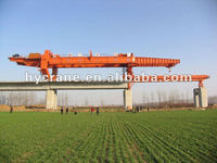 50-200t Bridge Erection Machinery Bridge Erection Overseas Service Bridge Beam Launcher For Beam