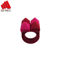2019 creative fashion design silicone rubber wedding finger ring Christmas gift factory