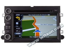 WITSON MUSTANG 2007-2009 in car dvd gps player WITH A8 CHIPSET 1080P V-20 DISC WIFI 3G INTERNET DVR SUPPORT