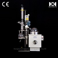 Glass Vacuum Distillation Unit With Constant Temperature Water Bath