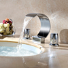 Bathrooms 3 Hole Wash Basin Faucets