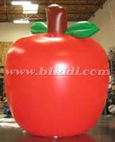 Inflatable flying apple baloon, giant apple shape helium balloon K7127