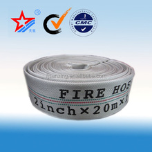 2 inch 13 bar working pressure pvc lined canvas fire hose