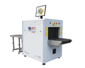 CE ISO ROHS FCC x ray scanner machine baggage inspection system with automatic alarm UK senstech detection board