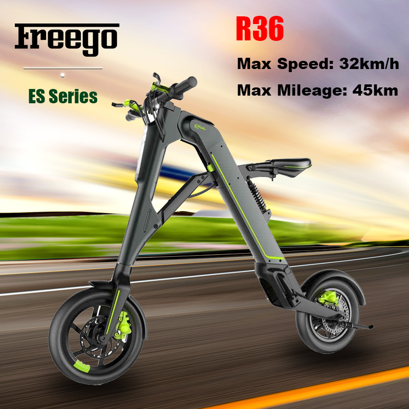 factory made self balancing Freego 2 wheel Electric Scooter