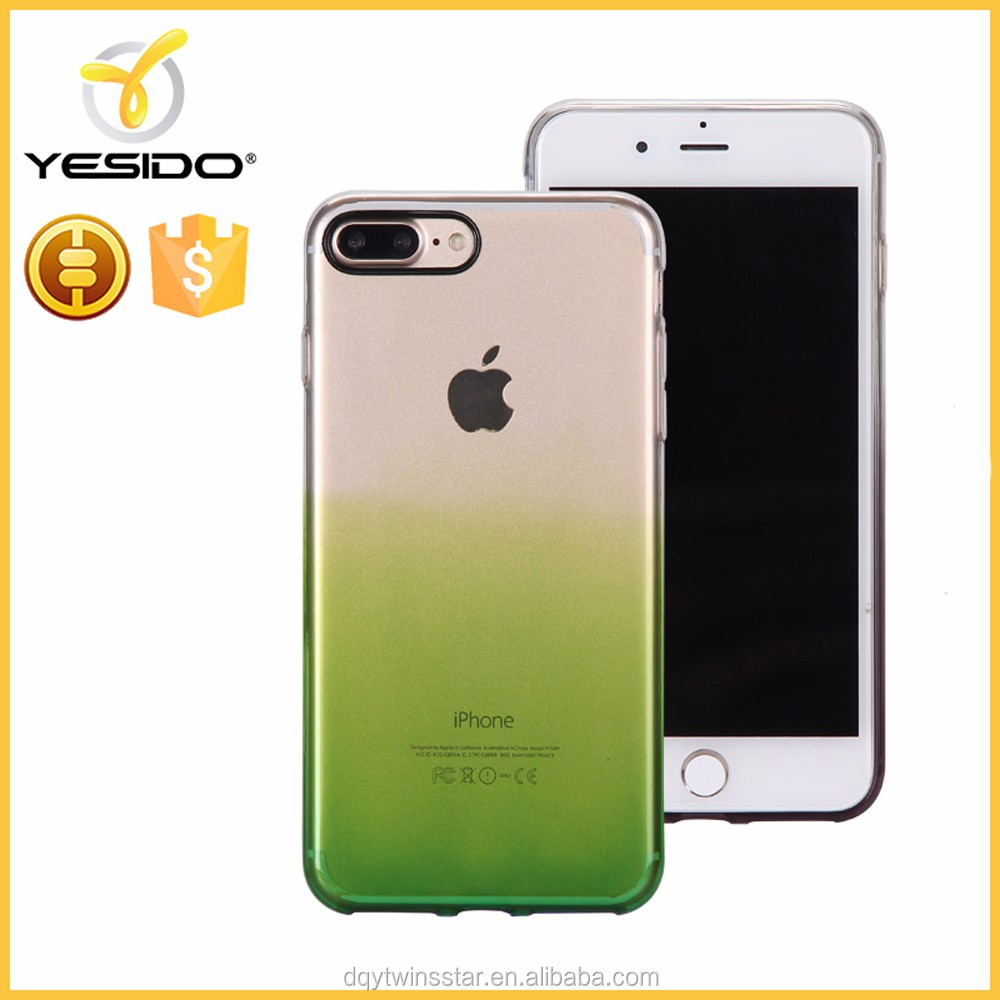2017 transparent tpu case phone shell mobile phone back cover for iphone 7