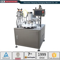 Silica Gel Filling and Sealing Machine for Metallic Tubes