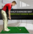 Golf driving range practice hitting and stance mat