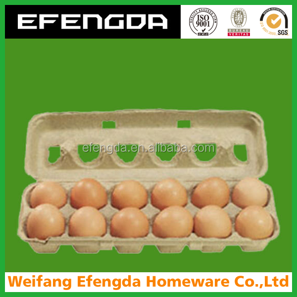 PAPER PULP TRAY BOX FOR EGG