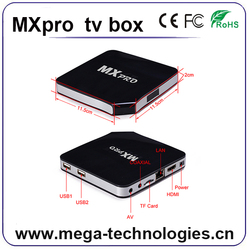 OEM factory Android tv box bluetooth 4.0 S805 quad core CPU support wireless keyboard wholesale low price