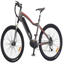 "Wholesale Bicycle Electric 26"" Mountain Bike BaFang Max Mid Drive System With 18650 li ion Battery Full Suspension Fork E-Bike"