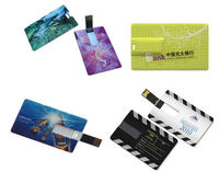 customized card shape usb flash drive ,2gb 4gb visa card usb key ,printing phone card pen drive