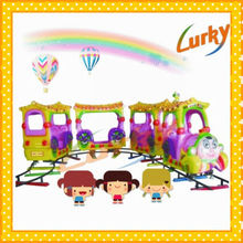 Child favorite electric amusement kids train/model of electric train/park electric train for sales