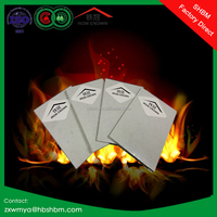 "fire-rated calcium silicate board 6mm 10mm 12mm 15mm 18mm 4""x8"" non asbestos"