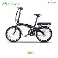 TOP e-cycle hot selling 250W israel folding electric bicycle