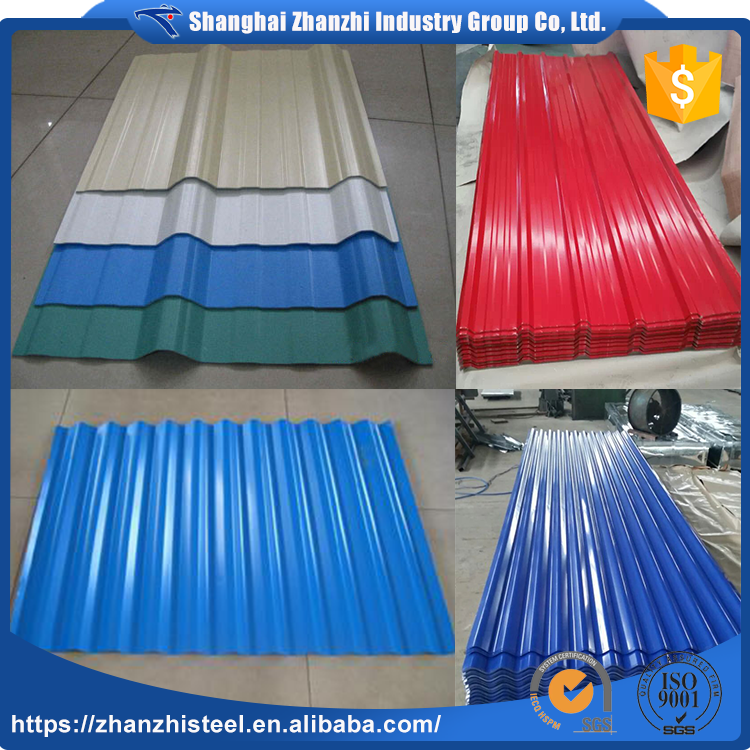 China Goods Wholesale Colorful Copper Corrugated Roofing