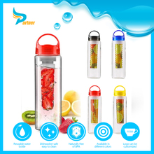 Wholesale New Products Plastic Sports Drinking Water Bottle Lemon Tea Fruit Infuser