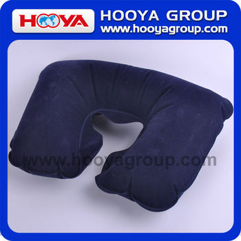 comfortably support your neck inflatable pillow