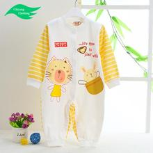 soft gorgeous girls solid cotton baby rompers wholesale baby clothes