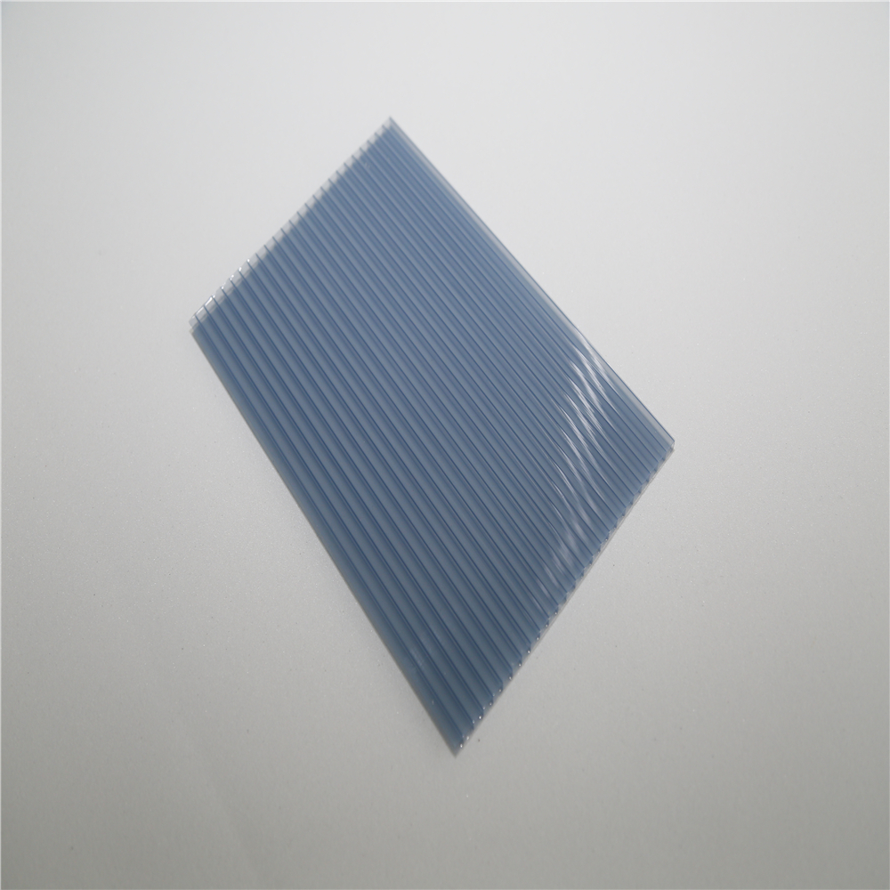 uv resistant transparent solar panel twin wall Hollow Plastic PC Polycarbonate sheet