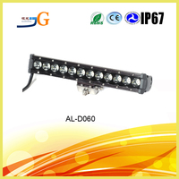used police light bars,4x4 Driving Light bar Lamp Off Road Boat Car LED 60w 11.5'' IP67 AAL-D060