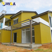 (WA -North America)Light Steel Prefabricated Cottage /Prefab Concrete House