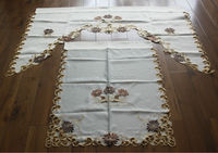 fancy embroidered kitchen curtains