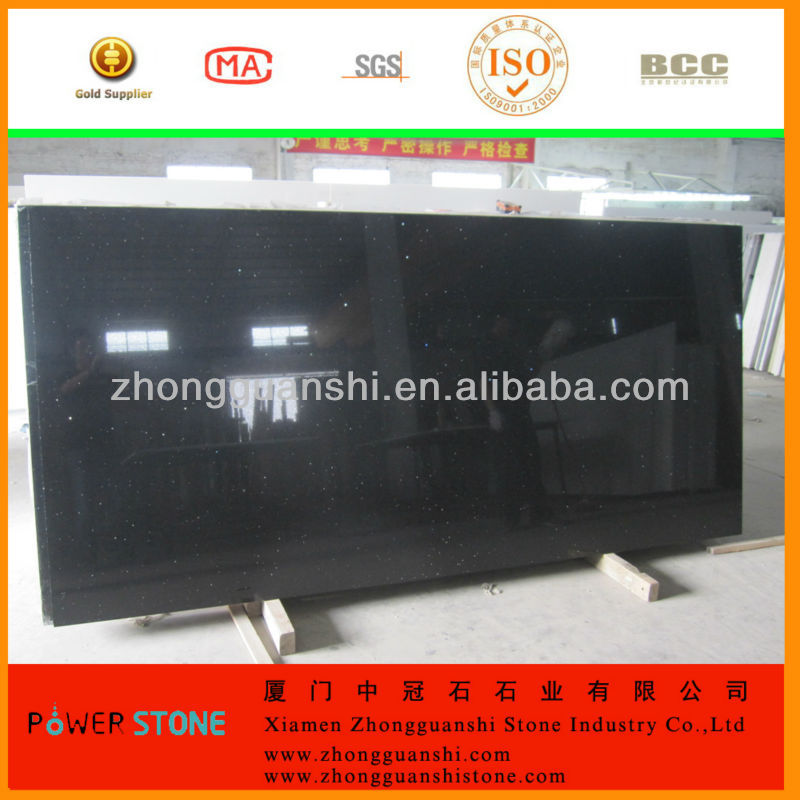 China Best Pure Black /white Quartz Stone