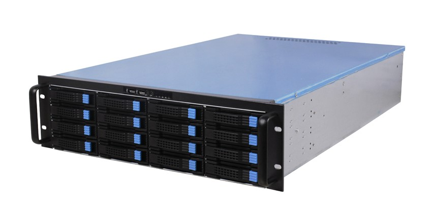 Hot DAOHE 3U 16 Bays Hot swap Server Case Big Storage rackmount Chassis