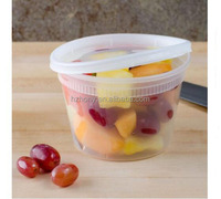 36 Pack 16oz Food Storage Containers with Lids Round Plastic Deli Cups Leak Proof Microwave & Dishwasher safe