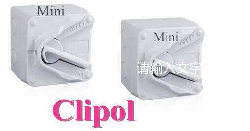 Mini IP66 Weather Protected Isolating Switches Australian Approved electric isolator switch
