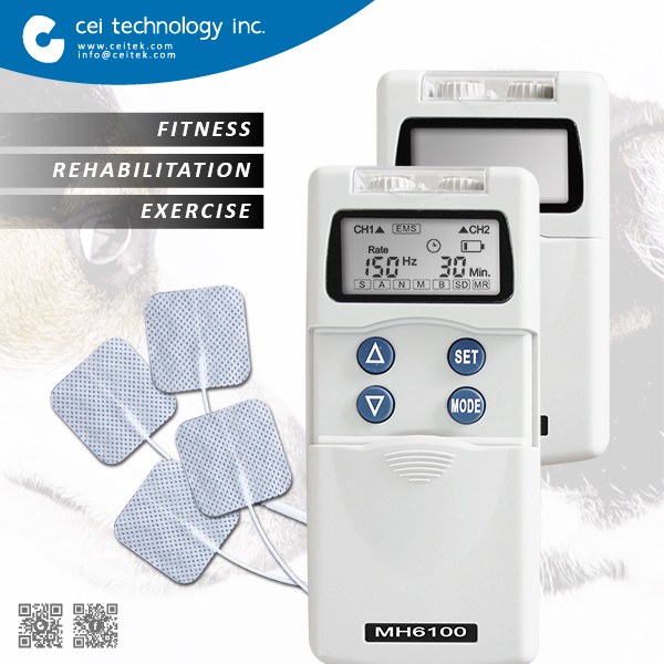 CE certified Electronic Muscle Stimulation abdominal exerciser