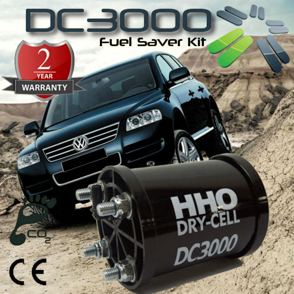 Kit HHO DC3000 for Cars, Boats and Electric Generators