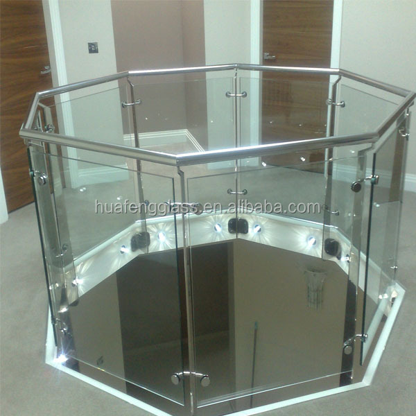 10mm balcony tempered glass panels