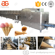 Automatic Ice Cream Rolled Sugar Cone Baking Machine