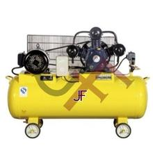 High Quality 1.5hp1.1kw 40l belt piston air compressor v0.127 high and low pressure