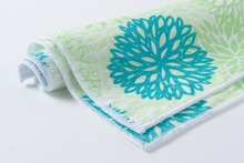 microfiber warp knitted cleaning towel