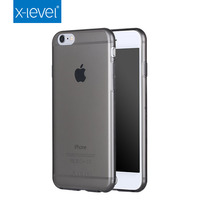 X-Level Hot Selling Cell Phone Case For Apple iPhone6 Wholesales Super Thin TPU Cover Case for Apple