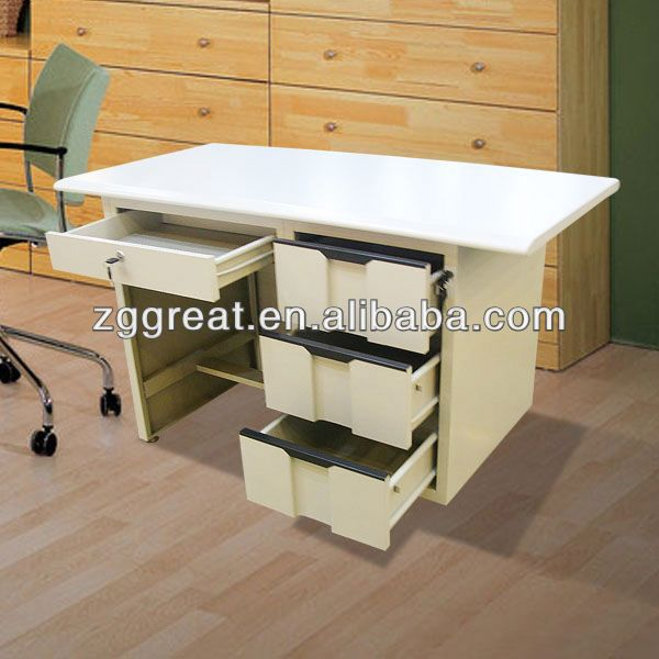 folding desk with wheels/ assemble office table