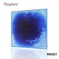 Royllent Play Mat Fancy Liquid Floor Tile For Kids Room 20 inch X 20 inch Blue