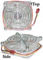 Crystal Neon Case Fan