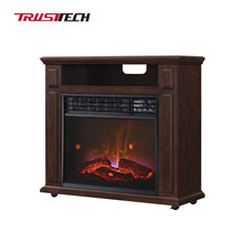 No Heat Decor Flame Electric Fireplace With LED Display