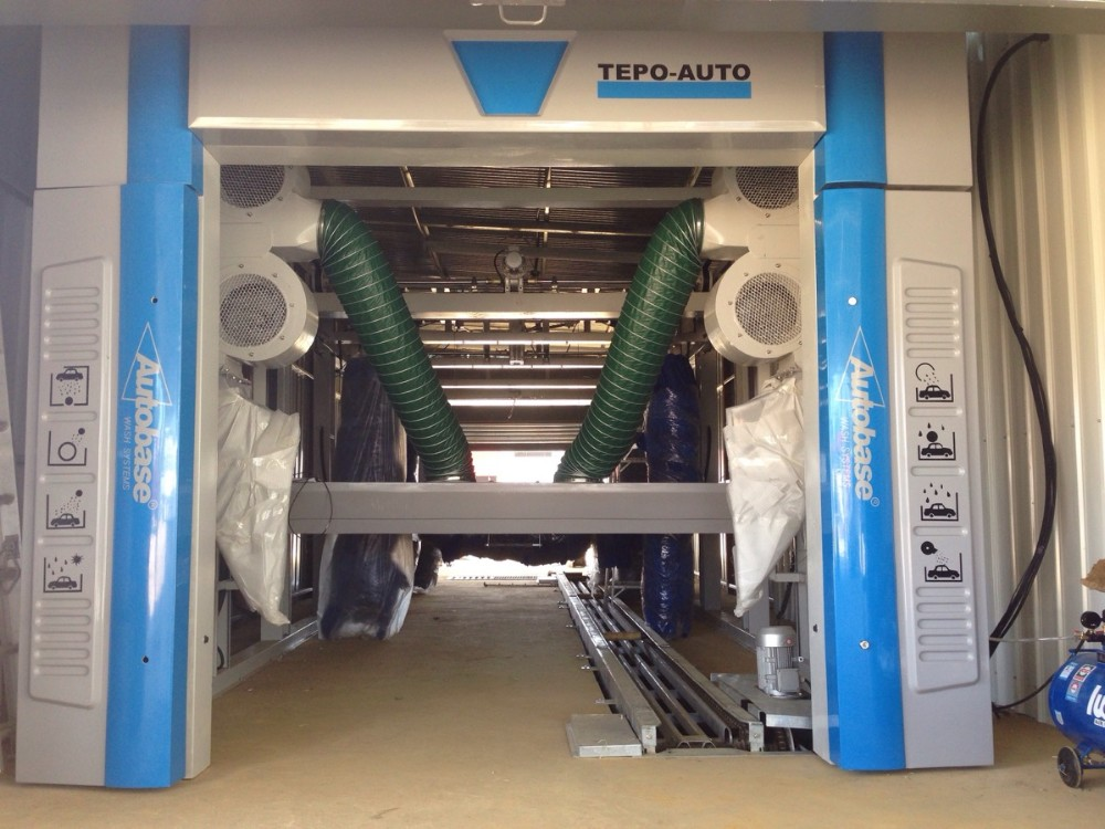 TEPO-AUTO TP-901Automatic Tunnel Car Washing Machine