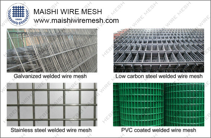25mm opening size stainless steel welded wire mesh